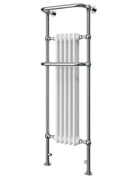 Vogue Regency Tall 500 x 1500mm Mildsteel Traditional Towel Rail