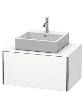 XSquare 800 x 548mm Wall-Mounted 1-Drawer Vanity Unit For Console