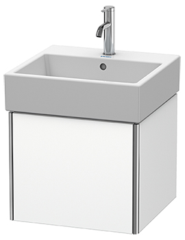 Duravit XSquare 484 x 460mm Wall-Mounted Vanity Unit With 1 Pull-Out Compartment