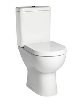 Tavistock Ion Comfort Height WC With Cistern And Soft Close Seat