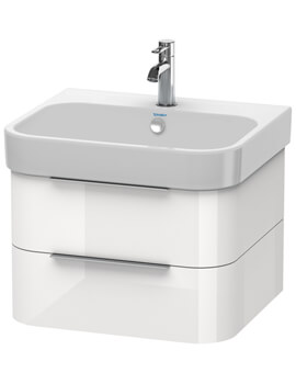 Happy D2 Wall Mounted 2 Drawers Vanity Unit