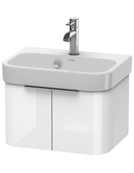 Happy D2 475 x 350mm Two Doors Vanity Unit And Basin