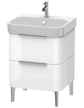 Happy D2 Floor Standing 2 Drawer Vanity Unit