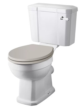 Hudson Reed Richmond Close Coupled WC Pan With Cistern - Image