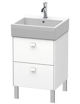 Brioso Floor Standing 2 Drawer Vanity Unit For Vero Air Basin