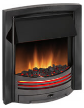Dimplex Adagio Brass Optiflame Electric Inset Fire