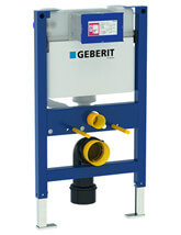Geberit Duofix WC Frame H82 With Kappa UP200 Cistern 15cm
