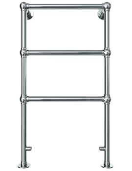 Vogue Ballerina 575 x 938mm Floor Mounted Traditional Towel Rail