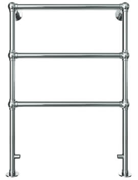 Vogue Ballerina 598 x 848mm Floor Mounted Traditional Towel Rail