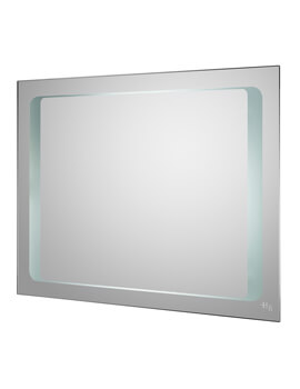 Insight 800 x 600mm Motion Sensor Mirror With De-Mister Pad