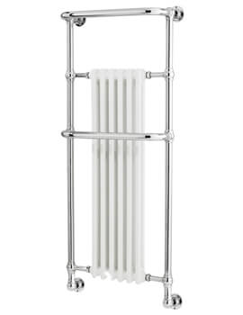 Brampton 575 x 1365mm Wall Mounted Heated Towel Rail
