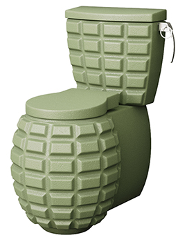 Beo Military Collection Close Coupled Toilet