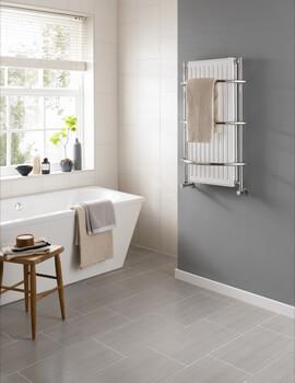 Vogue Nexus IV 590 x 900mm Traditional Towel Rail
