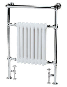 Hudson Reed Harrow 673 x 965mm Traditional Radiator