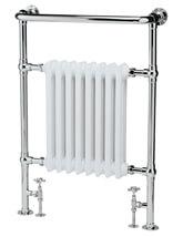 Hudson Reed Harrow 673 x 965mm Traditional Bathroom Radiator