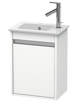 Ketho 1 Door 400mm Wall-mounted Vanity Unit With ME By Starck Basin