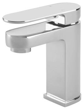 Letto Mono Basin Mixer Tap With Click Clack Waste