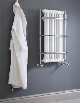Vogue Nexus Grand IV 590 x 900mm Traditional Towel Rail