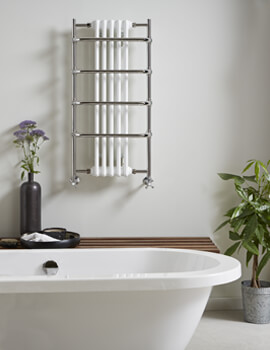 Vogue Sequel V 525 x 1000mm Traditional Towel Rail