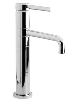 Hudson Reed Tec Single Lever High Rise Mono Basin Mixer Tap - Image