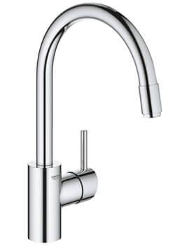 Concetto Single Lever Monobloc Sink Mixer Tap