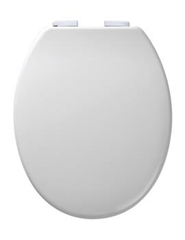 Curve Soft Close Toilet Seat White