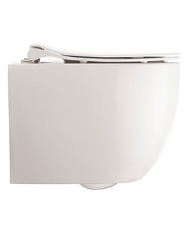 Glide II Wall Hung Rimless Toilet And Soft Close Seat