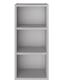 Heritage Caversham Dove Grey 300mm Open Wall Unit