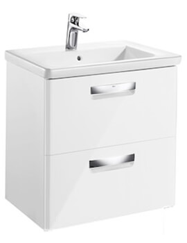 The Gap-N Unik 600mm Gloss White Unit And Basin