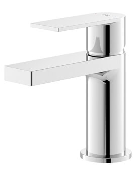 Sottile Single Lever Chrome Basin Mixer Tap