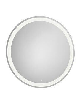 Iridia Round Mirror With Perimetral LED Lighting And Demister Device