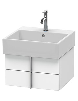 Vero Air 2 Drawers Wall-mounted Vanity Unit With Basin