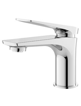 Drift Single Lever Chrome Basin Mixer Tap With Waste