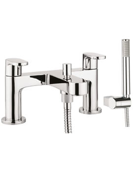 Crosswater Style Bath Shower Mixer Tap With Kit