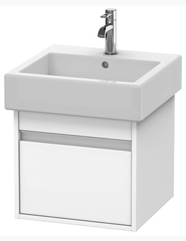 Ketho 440mm Depth 1 Drawer Wall Mounted Vanity Unit