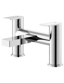 Sottile Chrome Deck Mounted Bath Filler Tap