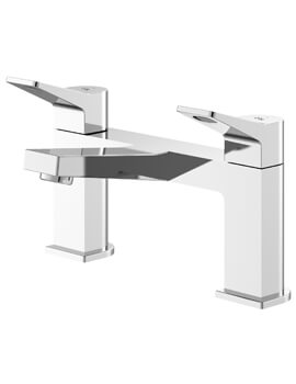 Soar Chrome Deck Mounted Bath Filler Tap