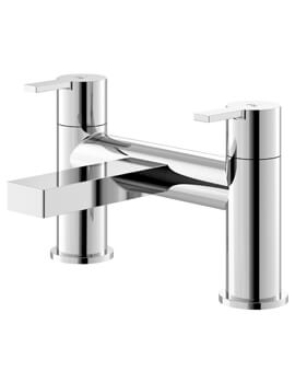 Willow Chrome Deck Mounted Bath Filler Tap