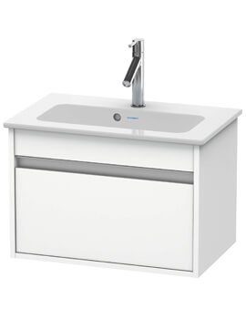 Ketho 385mm Depth Wall Mounted Compact Vanity Unit