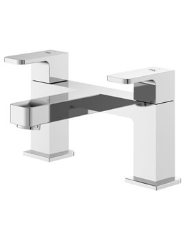 Astra Deck Mounted Bath Filler Tap Chrome