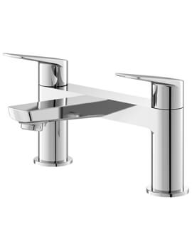 Drift Chrome Deck Mounted Bath Filler Tap