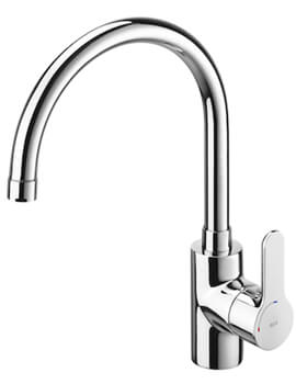 L20 Kitchen Sink Mixer Tap With High Swivel Spout