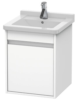 Ketho 440 x 455mm Wall Mounted 1 Door Vanity Unit