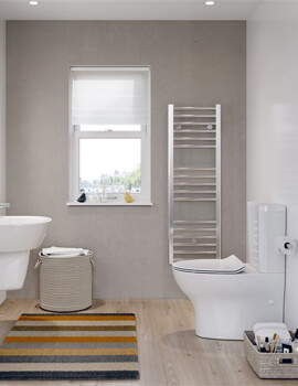 Kai Compact Close Coupled WC with Cistern And Soft Close Seat