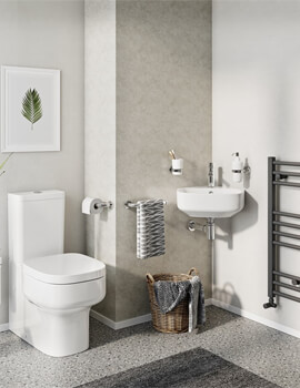 Kai S Compact Close Coupled Toilet with Cistern And Soft Close Seat