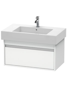 Ketho 455mm Depth Wall Mounted 1 Drawer Vanity Unit