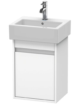 Ketho 400 x 320mm Wall Mounted 1 Door Vanity Unit