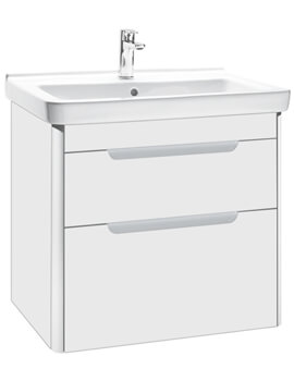 Dama-N Wall Hung Vanity Unit With 2 Drawer