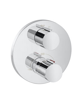 Roca T-1000 Built-in Thermostatic Bath Shower Mixer Valve
