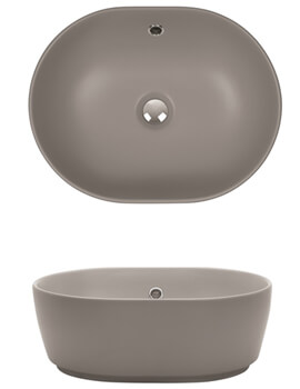 Pearl PLUS TON Countertop Basin
